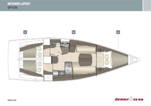 Deheler 38SQ int layout option