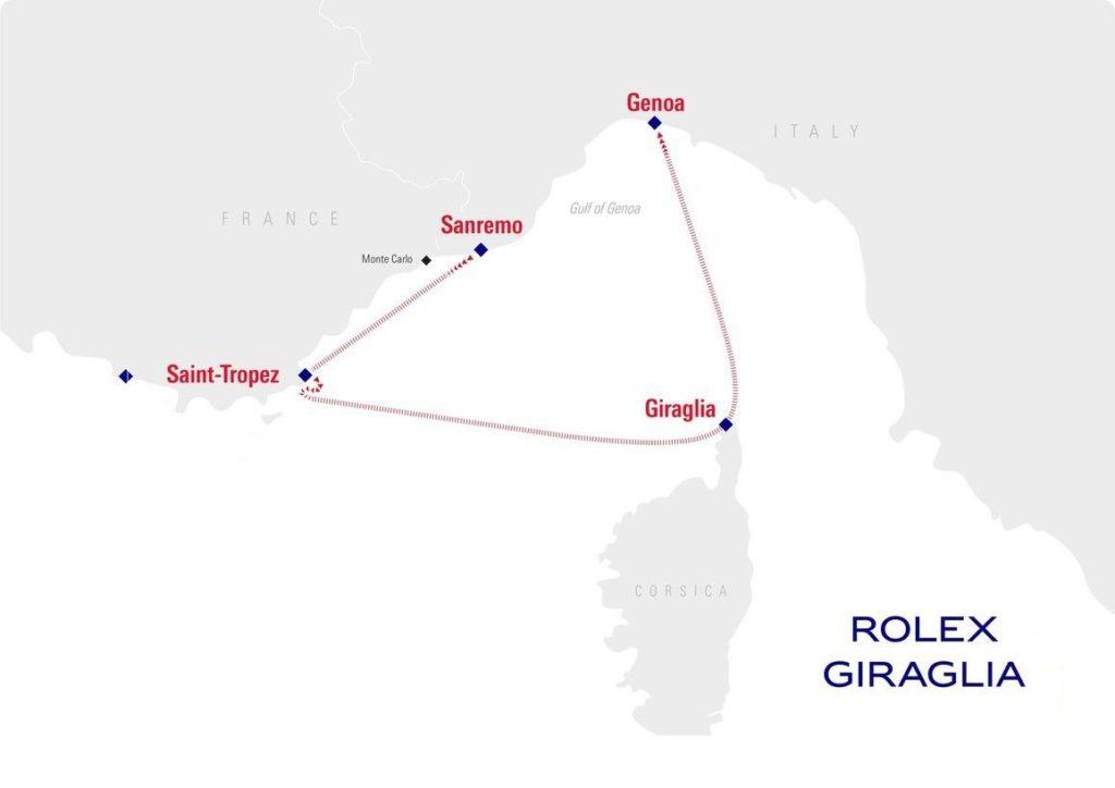 Solaris 50 Rolex-Giraglia 2018
